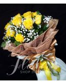 1 Dozen Imported Yellow Roses