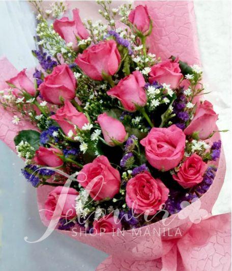16 Elegant Pink Roses