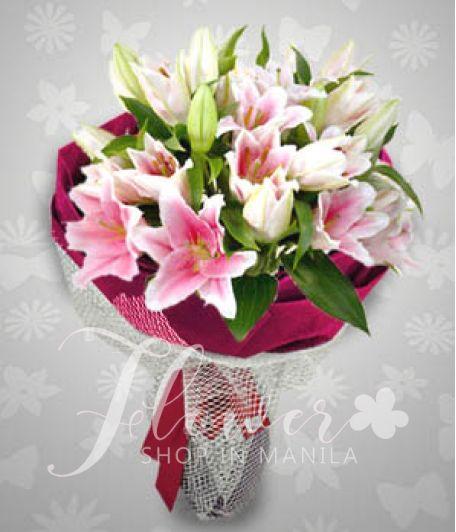 1 Dozen Stargazer Lilies