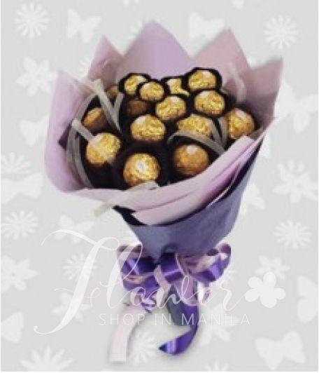 Ferrero in a bouquet