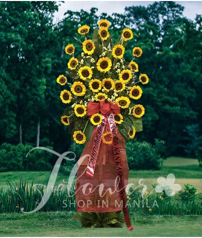 Inaugural Flower Standee 1
