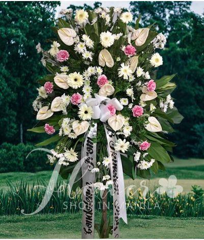 Funeral Flower Standee 1