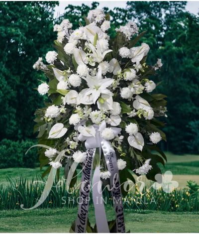 Funeral Flower Standee 2