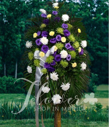 Funeral Flower Standee 4