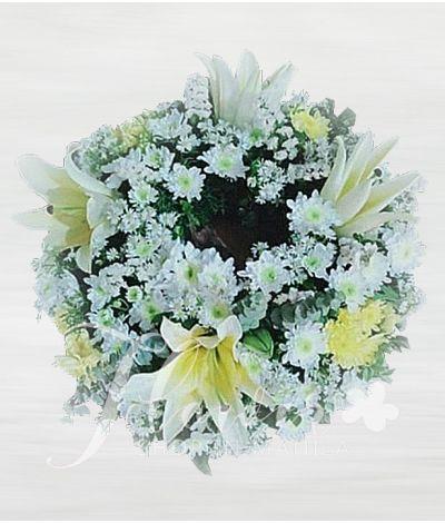 Purity Urn Flower Arrangement